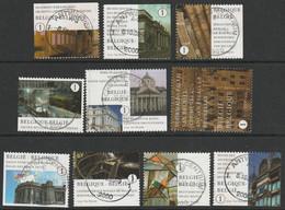 3941/3950 Mont Des Arts /Kunstberg  Oblit/gestp Centrale - Gebraucht