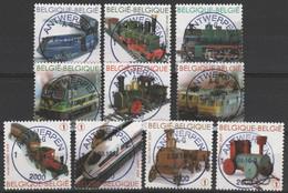 3958/3967 Petit Trains/Miniatuur Treinen Oblit/gest Centrale - Gebraucht