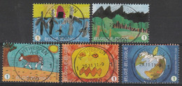 4014/4018 Fètes Du Timbres Poste/Feest Vd Postzegel Oblit/gestp Centrale - Gebraucht