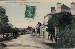 Thematiques 53 Mayenne Saint Denis D'Anjou Entrée Du Bourg Route De Sablé - Sonstige Gemeinden
