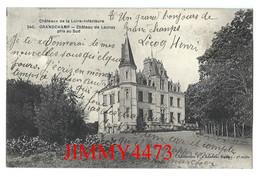 CPA - GRANDCHAMP En 1912 - Château De Launay Pris Au Sud ( Arr. De Chateaubriant 44 Loire Inf.) N°240 - Edit. F. Chapeau - Andere Gemeenten