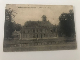 Carte Postale Ancienne (1920) Ecaussinnes D'Enghien  - Château De La Folie - Ecaussinnes