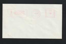 Great Britain Cover W/Meter Cambridge 1983 Cantabrian Official Supplier To The 1980 Olympics (DD24-65) - Sommer 1980: Moskau