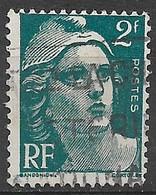 France 1945. Scott #536 (U) Marianne - 1945-54 Marianne De Gandon