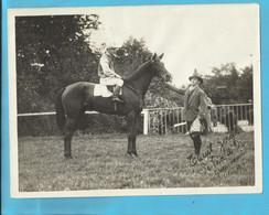 """Groenendaal (Hoeilaart) """"Tanit Zerga"""" Winnaar, Vainqueur """"Le Vase D'Or"""" Oct/Okt 1925 Fotograaf J. Hersleven Foto 24x18 C - Hoeilaart"""