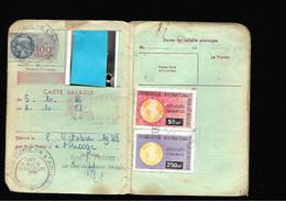 Timbre Fiscal  Fiscaux Réfugiés - Revenue Stamps