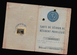 Timbre Fiscal  Fiscaux Réfugiés   Rare - Revenue Stamps