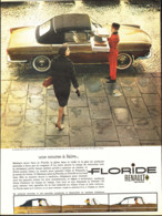 "PUB   "" FLORIDE  "" RENAULT   1960 ( 1 ) - Other"
