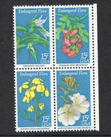 USA 1979, MiNr.1386-1389, Naturschutz: Blumen, Postfrisch Mnh ** - Unused Stamps