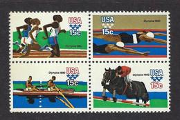 USA 1979, MiNr.1398-1401, Olympische Sommerspiele 1980, Moskau, Postfrisch Mnh ** - Unused Stamps