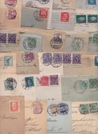 ALLEMAGNE GERMANY DEUTSCHLAND Lot De 253 Enveloppes Et Cartes Timbrées Anciennes Av. 1933 Lettres Timbres Stempel Brief - Covers