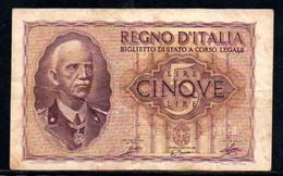 550-Italie Billet De 50 Lire 1951 - 3367 - 50 Lire