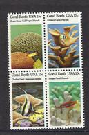 USA 1980, MiNr.1434-37, Korallen, Postfrisch Mnh ** - Unused Stamps