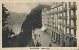 Burgenstock Palace Hotel  Timbrée Kehrsiten  1913 Edit Braun - NW Nidwald