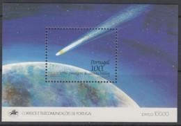 PORTUGAL  Block 51, Postfrisch **, Halleyscher Komet 1986 - Blokken & Velletjes