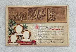 Cartolina Postale Italiana 92° Reggimento Fanteria, Non Viaggiata - Regimientos