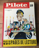 ALBUM PILOTE RECUEIL 18 RELIURE N° 224 à 236  COMPLET - 15 Juin 1965 Edition Belge - Pilote