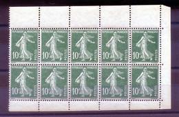 FRANCE 10 TIMBRES CARNET N° 159 D, ** (neufs/sans Charnière) - Definitives