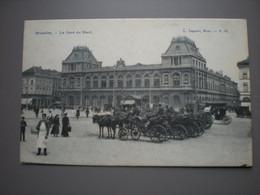 BRUXELLES 1909 - LA GARE DU NORD - L. LAGAERT N° 18 - Sin Clasificación