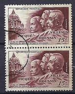 FRANCE 1951:  Paire Du Y&T 898, Obl. CAD - Oblitérés