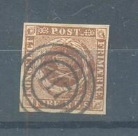 Denmark 1851 Used - Gebraucht