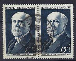 FRANCE 1950:  Paire Du Y&T 864, Obl. CAD - Oblitérés