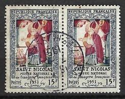 FRANCE 1951: Paire Du Y&T 904, Obl. CAD - Oblitérés
