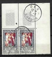 FRANCE 1951: Paire CDF Du Y&T 904, Obl. CAD - Oblitérés