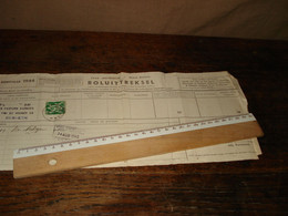 STEMPEL : HOBOKEN  _ 1 DOCUMENT   _  ( Ismo 20) - Covers & Documents