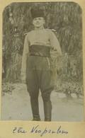 Portrait D'un Jeune Militaire Nommé Elie Nespoulous. Armée D'Afrique. 6e Régiment Des Chasseurs D'Afrique. Circa 1900. - War, Military