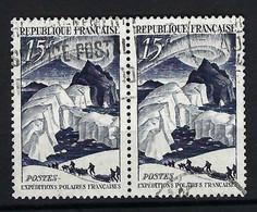 FRANCE 1949: Paire Du Y&T 829, Obl. CAD - Oblitérés