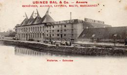 Antwerpen Schoten Usines Bal En Co  Malteries Schooten Niet Verstuurd - Schoten
