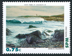 ST-PIERRE ET MIQUELON 2005 - Yv. 841 **   Faciale= 0,75 EUR - Tableau Anse à L'Allumette  ..Réf.SPM12387 - Unused Stamps