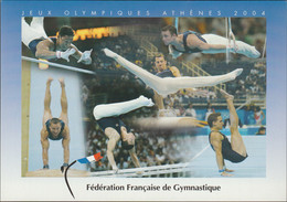 France Postcard 2004 Olympic Games In Athens - Federation Francaise De Gymnastique - Mint (DD24-63) - Estate 2004: Atene