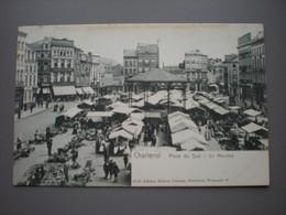 CHARLEROI 1903 - PLACE DU SUD - LE MARCHE - ED. MAISON DUMONT 3646 - Charleroi