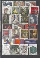 25 TIMBRES FRANCE TABLEAUX - Sammlungen