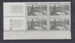 PALAIS ELYSEE N° 1192 - Bloc De 4 COIN DATE - NEUF SANS CHARNIERE - 30/6/59  1 Trait - 1950-1959