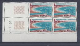 La BAULE N° 1502 - Bloc De 4 COIN DATE - NEUF SANS CHARNIERE - 29/6/67  1 Trait - 1960-1969
