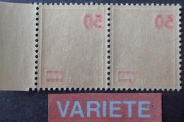 R1118/388 - 1940/1941 - TYPE MERCURE - (PAIRE) N°477 NEUFS** - VARIETE ➤➤➤ Surcharges RECTO-VERSO - Variedades: 1931-40 Nuevos