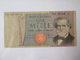 Italy 1000 Lire 1980 Banknote - 1000 Lire