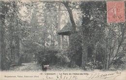 Le Parc De L'Hotel De Ville-1906 - Liancourt