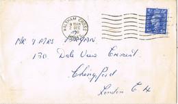 38446. Carta WALTHAM CROSS (Nerts) 1950 To London - Ohne Zuordnung