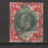 GRANDE-BRETAGNE. (Y&T) 1902-1910 - N°117  **Anniversaire De L'avènement D'Edouard VII*   1s. Obli () - Gebraucht