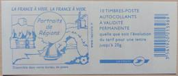 France - Carnet 3744A-C4 - Marianne De Lamouche Phil@poste TVP - La France à Voir - Non Plié - Uso Corrente