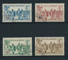 ALGERIE 1939 . Série N°s 159 à 162 . Oblitérés . - Oblitérés