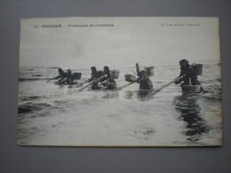 OSTENDE 1907 - PECHEUSES DE CREVETTES (1) - BEROEPEN / METIERS - ED. LE BON N° 145 - Oostende