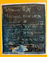 17044 - Tableau Noir étiquette à ....décrypter - Other