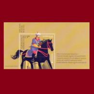 40 CEPT Ancient Postal Routes EUROPA EUROPE 2020 Azerbaijan Stamps Type 1 - Azerbeidzjan