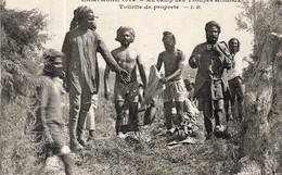 TROUPES HINDOUX TOILETTE DE PROPRETE 1914 - War 1914-18