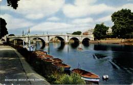 SURREY - RICHMOND BRIDGE, RIVER THAMES  Sur561 - Surrey